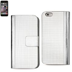 Reiko Diamond Flip Case Iphone 6/ 6S 4.7Inch Silver