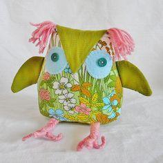 Spring Retro Owl £22.00