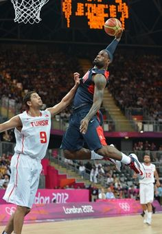 LeBron James received his third Olympic medal (second gold) and did it all on both ends, even recording the first U.S. Olympic triple double.