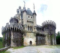 Castile Butrón in Gatika northern Spain