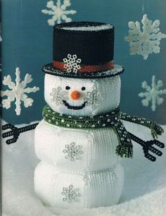 Snowman Can Cover 1/6