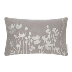 This RJR. John Rocha grey floral cushion, £25, is a great example of designers on the high street. It's subtle in colour but detailed enough, thanks to the embroidered flowers, to create an impact in any country home.