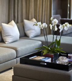 Image Result For Ottoman Tray Decor Styling Coffee Table Vignettes