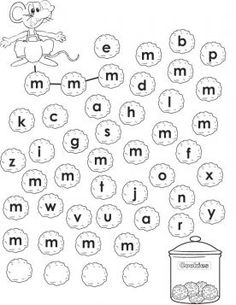 Kindergarten Language Arts, Kindergarten Math Worksheets, Alphabet Worksheets, Preschool Writing, Preschool Lessons, Preschool Activities, Letter M Activities, Teaching Letters, Letter Recognition