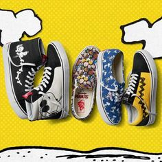 The Vans x Peanuts Collection Snoopy Shoes 046686310