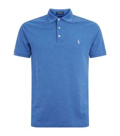 Polo Ralph Lauren Cotton Stretch Polo Shirt available to buy at Harrods.Shop clothing online and earn Rewards points. Casual Attire, Polo T Shirts, Style Men, Fashion Men, Boy Outfits, Dream Cars, What To Wear, Polo Ralph Lauren, Stitch