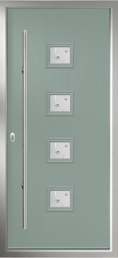 The Italia Collection - Modern Composite Doors From Solidor