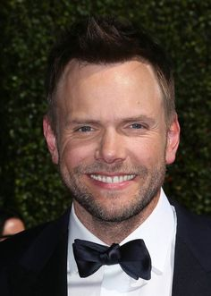 Joel McHale attends the 2014 Creative Arts Emmy Awards at the Nokia Theatre L.A. Live in Los Angeles, on Aug. 16, 2014