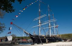 Mystic Seaport ~ saving the last wooden whale ship... part of our American history