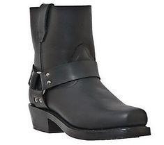 Dingo Men's Leather Motorcycle Boots -Rev Up