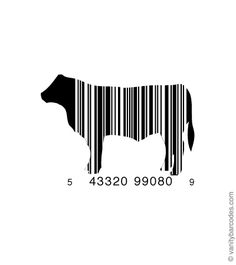 Happy barcode cows come from California! Barcode Art, Barcode Logo, Barcode Design, Logo Design, Brand Design, Graphic Design, Carnicerias Ideas, Line Design Pattern, Protein Shop