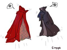 Benedict's coats are jealous of each other.