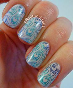 Tales of Knit and Nails #nail #nails #nailart