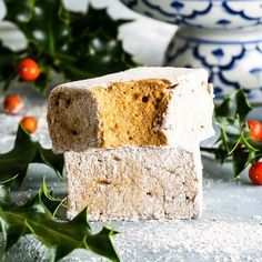 These homemade gingerbread marshmallows are a revelation – and they really taste just like gingerbread cookies! The ideal DIY Christmas gift.