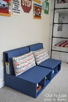 Easy Steps To Make DIY Plywood Kids Chairs With Storage U2022 Our House Now A  Home
