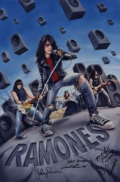 The Ramones Arturo Vega Illustration Design Portrait Art (4)