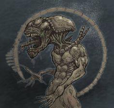 Alien by brewsterart