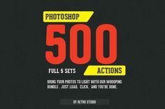 Check out RetroStudio - 500 Actions Bundle by Retro Studio on Creative Market