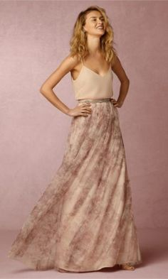 Gorgeous Bridesmaids Separates. Available from BHLDN you can find it here: http://www.anrdoezrs.net/links/8049602/type/dlg/http://www.bhldn.com/bridesmaids-bridesmaid-separates/liv-cami-blush-multi/productoptionids/c5e97864-0847-4c94-95a6-151a95b6e116?ref=cj&cm_mmc=CJ-_-Affiliates-_-Creative+Wedding+Co-_-11637887