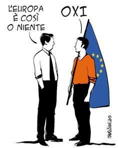 BANDIERA ROSSA in movimento: UN NO SU CUI RIFONDARE L'EUROPA di Norberto Fragia...