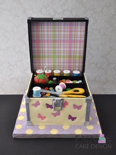 Sewing kit Cake by Irina - Ennas' Cake Design