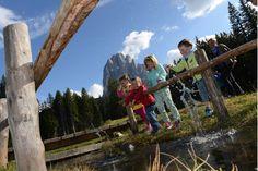 Trentino-Alto Adige eco sostenibile: Vacanze per i bambini in Val Gardena