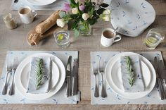 Swallow collection of homewares