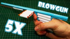 How To Make a Laser Assissted Blowgun - (Paper Gun)