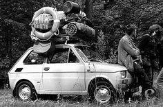 Kochany Maluszek, nawet do Bulgari nas zawiozl dwa razy na wakacje Fiat 126, Nostalgia, Visit Poland, Central And Eastern Europe, Historical Monuments, Car Drawings, My Childhood Memories, White Aesthetic, Warsaw