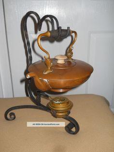 56 best vintage teapots with stand warmer images on pinterest tea