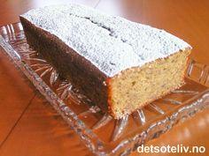 Norwegian Food, Norwegian Recipes, Vanilla Cake, Banana Bread, Deserts, Dinner, Baking, Liv, Cakes