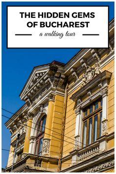 Discover the hidden gems of Bucharest on a walking tour around picturesque neighbourhoods.