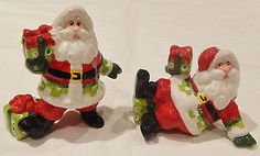 Santa-Claus-Fitz-And-Floyd-FF-Christmas-Figures-Figurines-Holiday-Party-Table