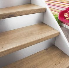 This is also true for that basement stairs. Flooring For Stairs, Wood Stairs, Basement Stairs, House Stairs, Basement Remodel Diy, Basement Renovations, Stair Renovation, Home Staging, Bars For Home