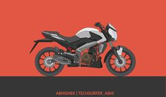 Vector Art of Bajaj Dominar 400. #dominar #techsurfer15 #techsurfer_abhi #techheap #dominar #dominar400 #abhi #abhishekgupta