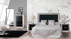 Muebles, Dormitorios, Dormitorio de matrimonio Argenta   Muebles El ...