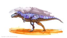 Tyrannosaur marker pic by Red-Dilopho on DeviantArt
