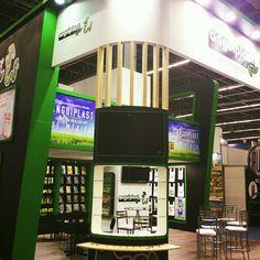 Display design booth stand #anguiplast expo confitexpo by CAMALEONDISPLAY