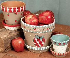 Absolutely Apples project from DecoArt
