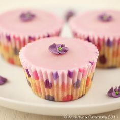 Lemon & Blueberry Cupcakes (Gluten Free, Dairy Free)