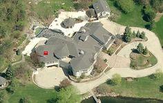 Eminem's home in Rochester, MI