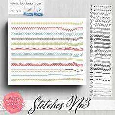 Stitches No3 {CU   PU   S4H}   NBK Design