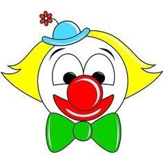 Clown Clipart Image - Cartoon Clown Face - Polyvore - ClipArt Best - ClipArt Best