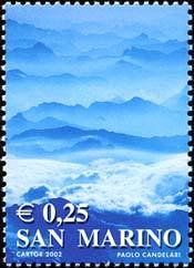 Stamp%3A%20Mountain%20landscape%20(San%20Marino)%20(Life%20colors)%20Mi%3ASM%202002%2CSn%3ASM%201526%2CUn%3ASM%201845%20%23colnect%20%23collection%20%23stamps