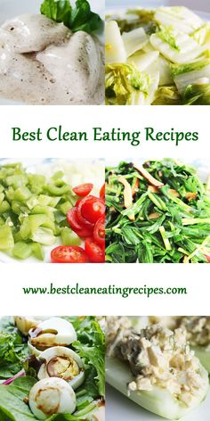 Delicious #CleanEatingRecipes for your clean eating meal plan and clean eating diet plan. Get wonderful, nutritious meal ideas and recipes that will help you lose weight in as little as one week! #WeightLoss #Health