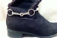 Snaffle Bit Boot Accessory, Equestrian Boot Accessory, Equestrian Boots on Etsy, $50.00