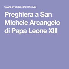 Preghiera a San Michele Arcangelo di Papa Leone XIII