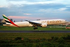 A6-ECF By Faisal Akram from Dhaka, Bangladesh (Emirates Boeing 777-31HER A6-ECF Landing) [CC BY-SA 2.0 (https://creativecommons.org/licenses/by-sa/2.0)], via Wikimedia Commons