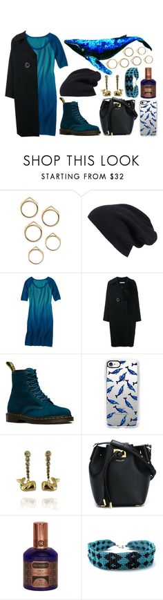 """""""Spirit Animals (Whale)"""" by ubiquitous-merkaba ❤ liked on Polyvore featuring Halogen, Krimson Klover, Rejina Pyo, Dr. Martens, Casetify, Michael Kors, House of Matriarch, Child Of Wild, sososspirits and ubispirits"""