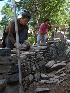 Formation et Qualification abps association des batisseurs en pierre seche, schiste, granite, calcaire